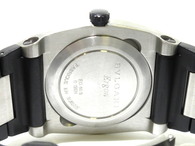 huge selection of 7c0ef 1365b BVLGARI(ブルガリ)/エルゴン/腕時計/型番EG40S/EG40BSVDの買取 ...