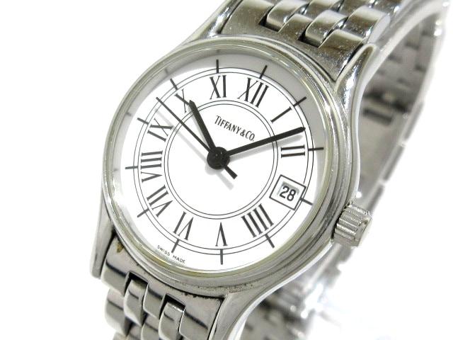 half off e2d2a dd875 TIFFANY&Co.(ティファニー) 腕時計 - レディース 白
