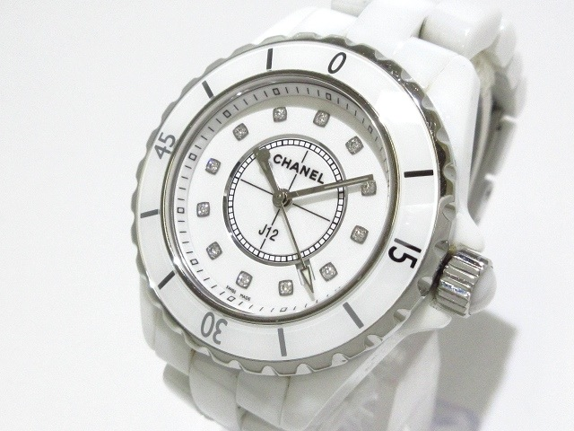 separation shoes 73222 a0aee CHANEL(シャネル) 腕時計 J12 H1628 レディース 白