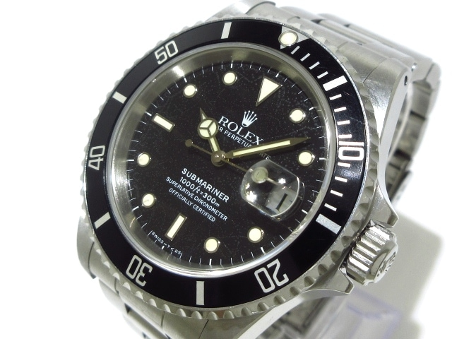ROLEX 腕時計 サブマリーナデイト /16610