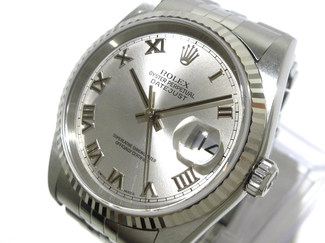 best website 13fe2 7d104 ROLEX(ロレックス) 腕時計 デイトジャスト 16234 ボーイズ シルバー