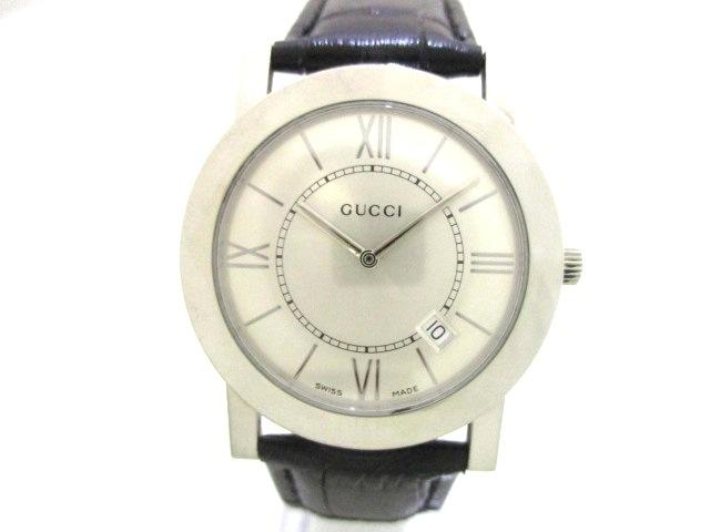 7cf3307717c9 GUCCI(グッチ) 腕時計美品 5200M.1 メンズ シルバー(13285481)中古 ...