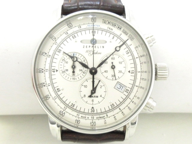 the latest 91f8d 4159f ZEPPELIN(ツェッペリン) 腕時計美品 7680 メンズ シルバー