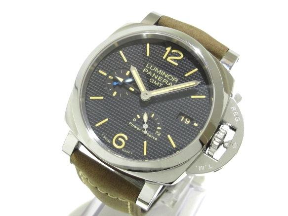 パネライ ルミノール1950 3デイズ GMT パワーリザーブ オートマティック アッチャイオ/PAM01537