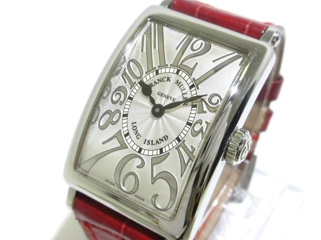 FRANCK MULLER 腕時計 ロングアイランド 902QZ ベゼル素材:ステンレススチール ※箱・保証書・ギャランティ付き