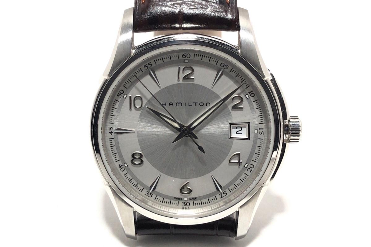 best sneakers e2a65 0074e ハミルトン 腕時計 ジャズマスター H324110 メンズ アイボリー
