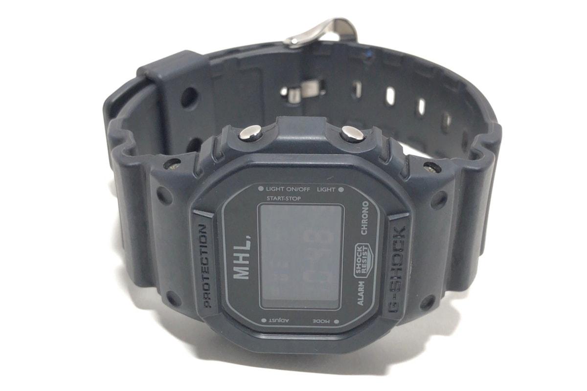 buy online 9fa13 78735 マーガレットハウエル 腕時計 DW-5600VT メンズ MHL.×G-SHOCK 黒