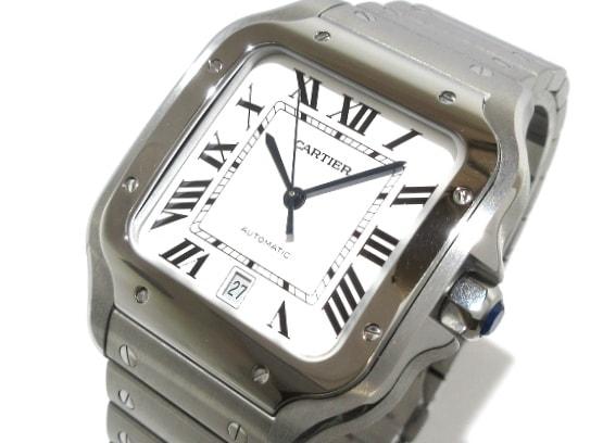 カルティエ サントス ドゥ カルティエ LM 腕時計