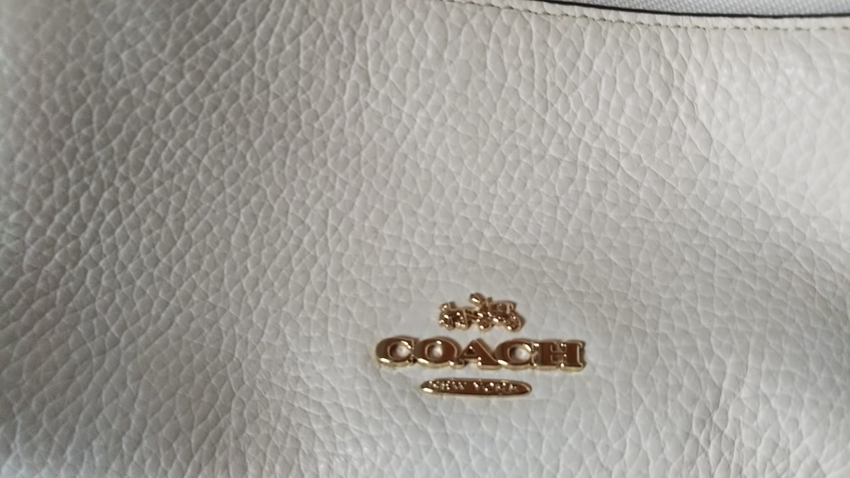 047332f134c9 COACH(コーチ) リュックサック美品 F38263 白 レザー(13470230)中古 ...