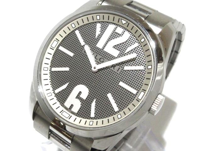 uk availability e3806 7c322 ブルガリ 腕時計美品 ソロテンポ ST42S メンズ SS シルバー×黒