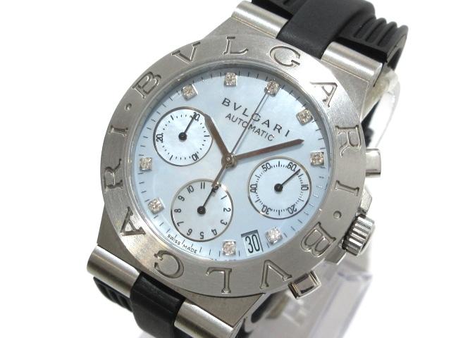 ブルガリ ディアゴノ スポーツクロノ 腕時計