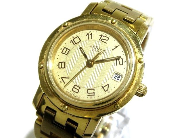 エルメス 【クリッパー】腕時計