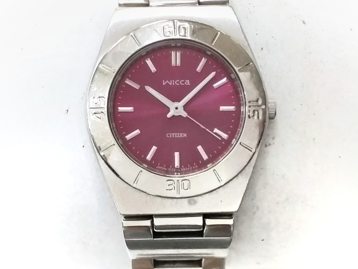d2830a63a7 CITIZEN(シチズン)/wicca/腕時計/型番1032-L20085の買取実績/29780647 の ...