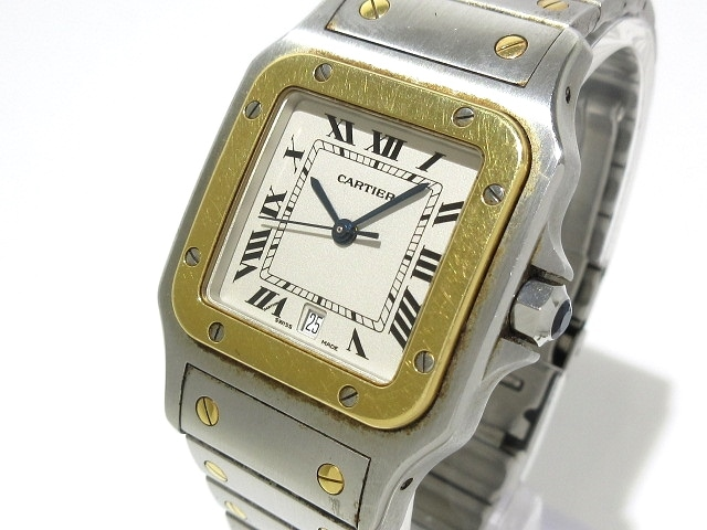 Cartier 腕時計 サントスガルベLM /W20011C4