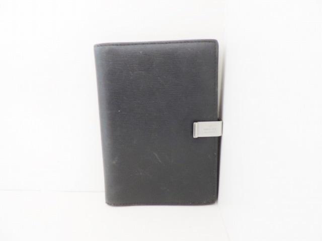 3cab1564c123 GUCCI(グッチ) 手帳 - - 黒 レザー(13628195)中古|ブランド通販 ...