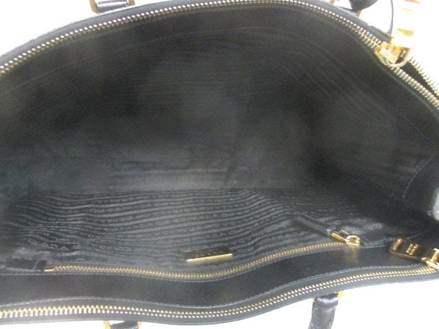 90b75c4f01e2 PRADA(プラダ) ハンドバッグ - 黒 レザー(13568529)中古|ブランド通販 ...