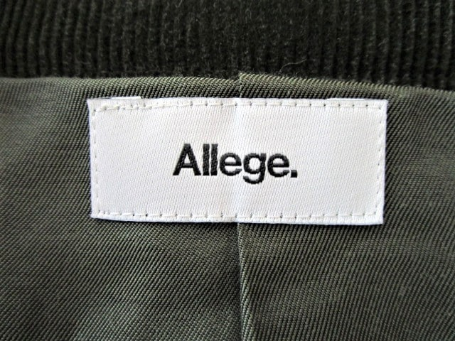 ALLEGE(アレッジ)のブルゾン
