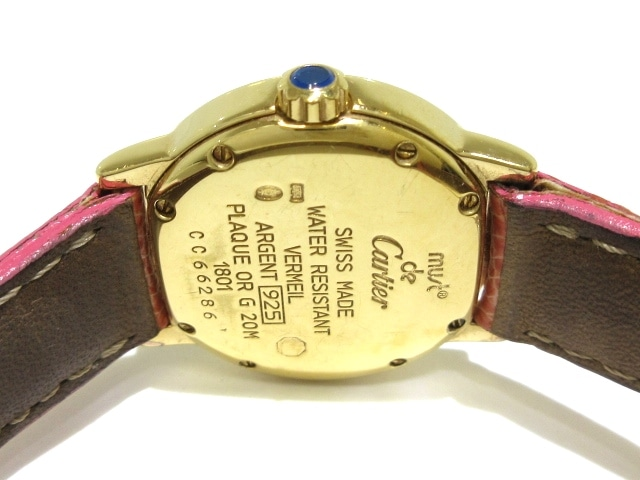 Cartier(カルティエ)のマスト2ロンドヴェルメイユ