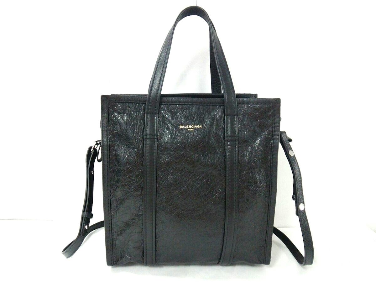 BALENCIAGA ハンドバッグ バザール ショッパー S 443096 黒