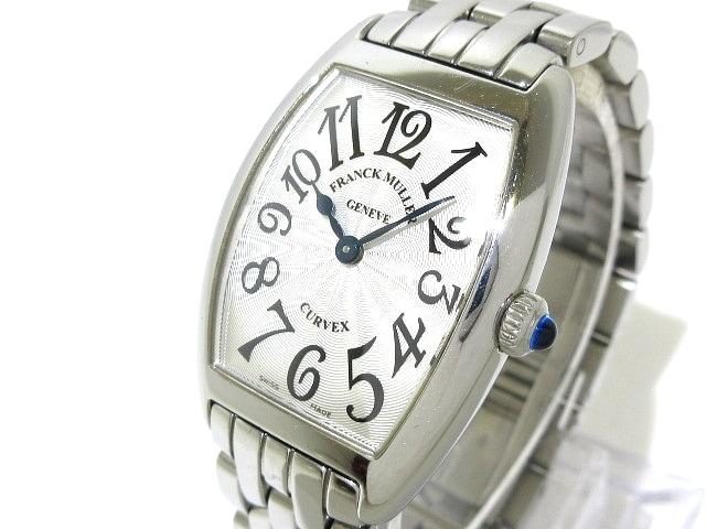 release date: 4fb98 7382b フランクミュラー 腕時計 トノーカーベックス 1752QZ レディース SS