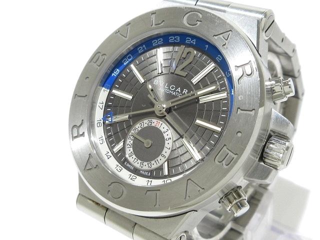 ブルガリ ディアゴノGMT 腕時計