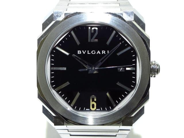 ブルガリ オクト 腕時計