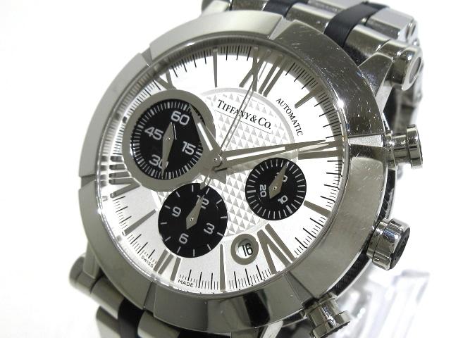ティファニー アトラスジェントクロノ 腕時計
