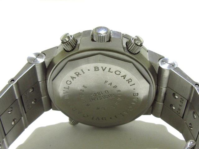 BVLGARI(ブルガリ)のディアゴノスクーバGMT