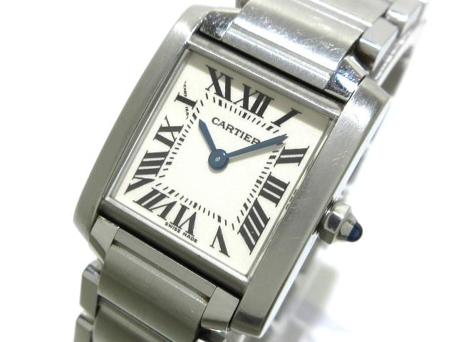 Cartier 腕時計 タンクフランセーズSM /W51008Q3