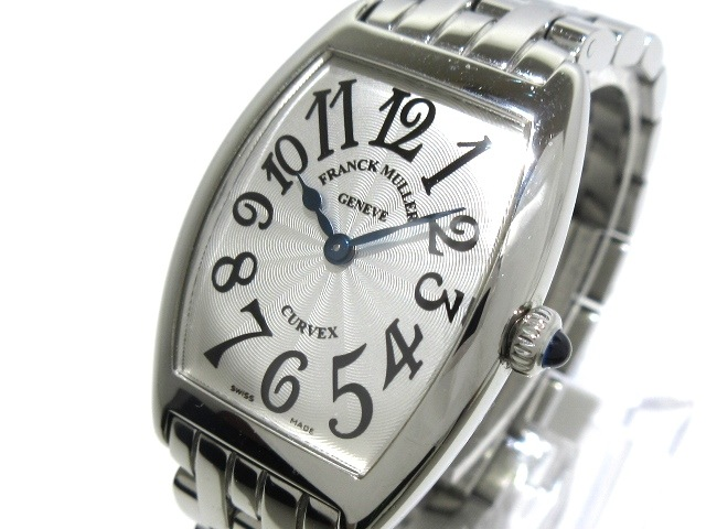 FRANCK MULLER 腕時計 トノーカーベックス 1752QZ