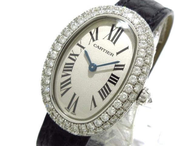 カルティエ ベニュワールSM 腕時計