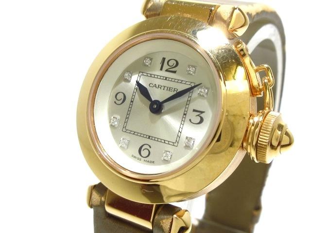 カルティエ ミスパシャ 腕時計