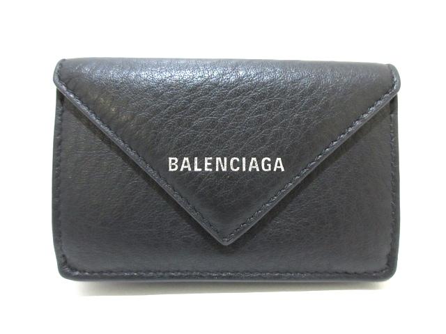 BALENCIAGA 3つ折り財布 ペーパーミニウォレット 391446