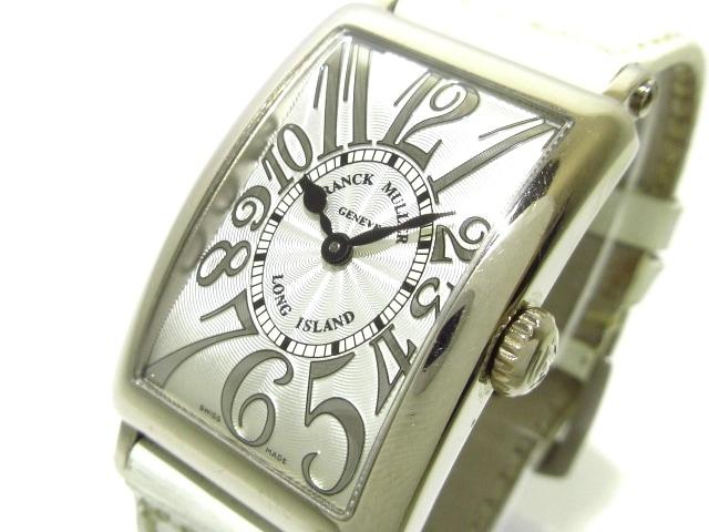 FRANCK MULLER 腕時計 ロングアイランド 902QZ ベゼル素材:K18 ※箱・保証書・ギャランティ付き