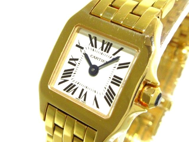 カルティエ サントスドゥモワゼルミニ 腕時計