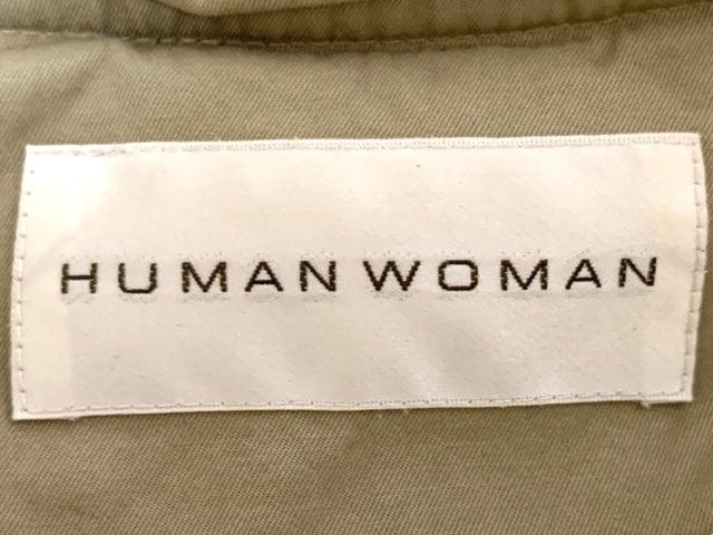 HUMAN WOMAN(ヒューマンウーマン)のダウンコート