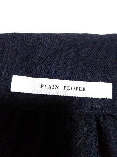 PLAIN PEOPLE(プレインピープル)のシャツブラウス