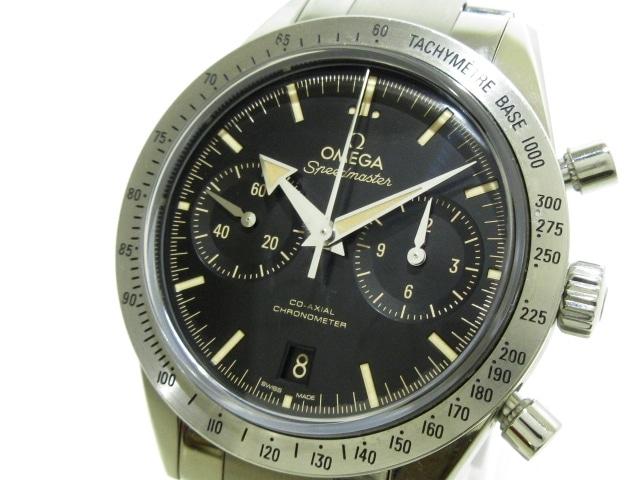 OMEGA 腕時計 スピードマスター'57 331.10.42.51.01.002 ※箱・ケース・保証書・ギャランティ付き