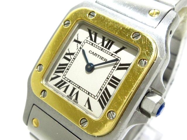 Cartier 腕時計 サントスガルベSM/W20012C4