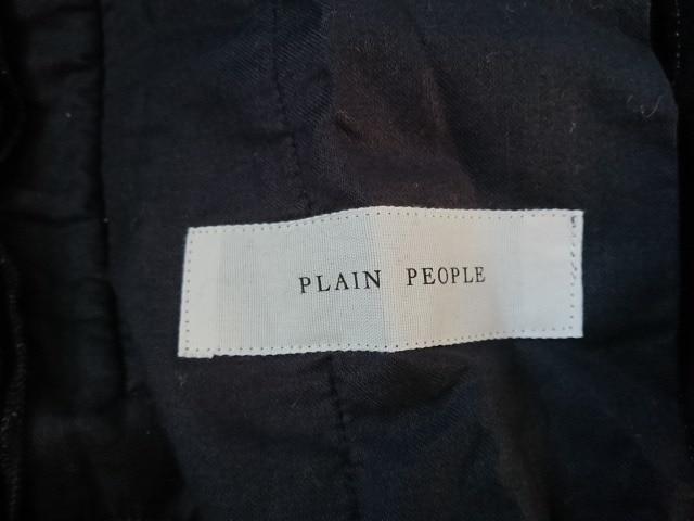 PLAIN PEOPLE(プレインピープル)のパンツ