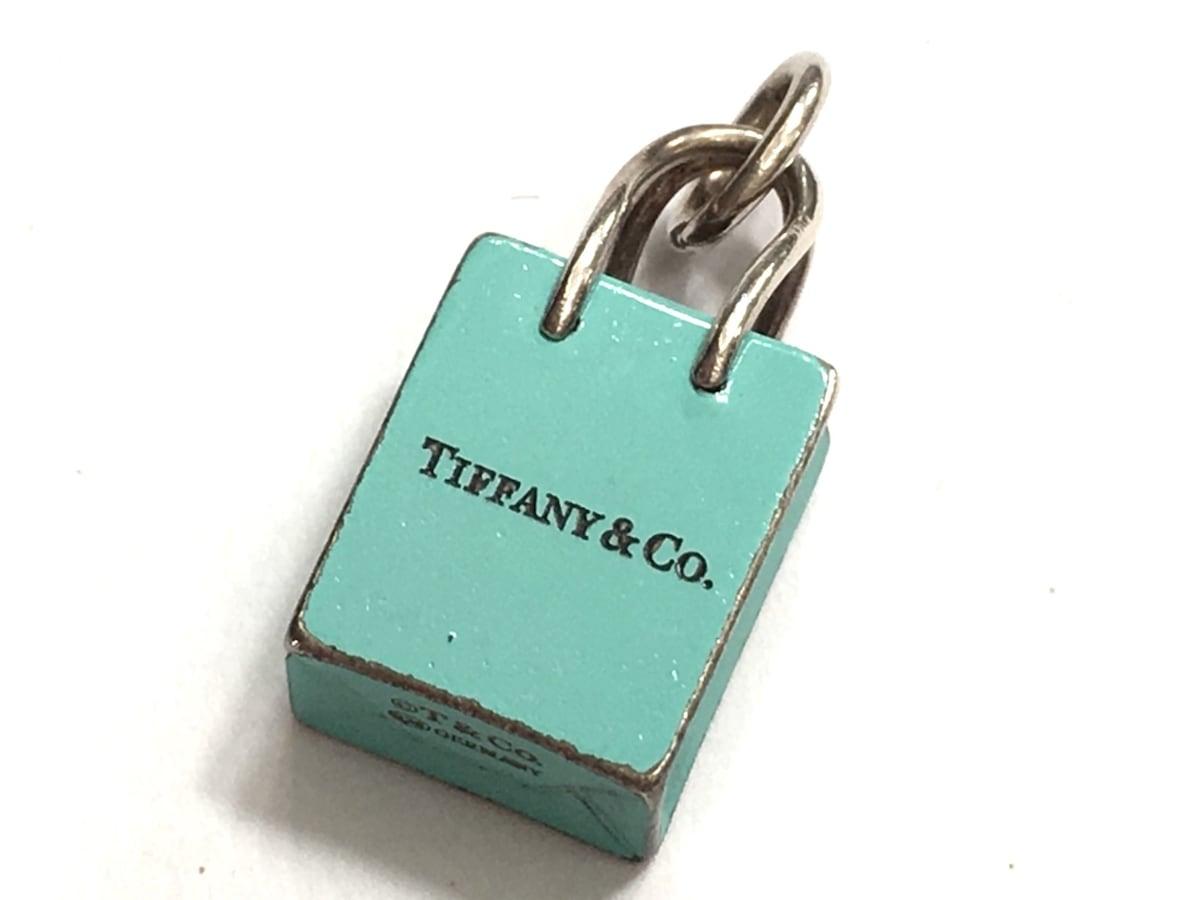 TIFFANY&Co.(ティファニー)のショッピングバッグチャーム