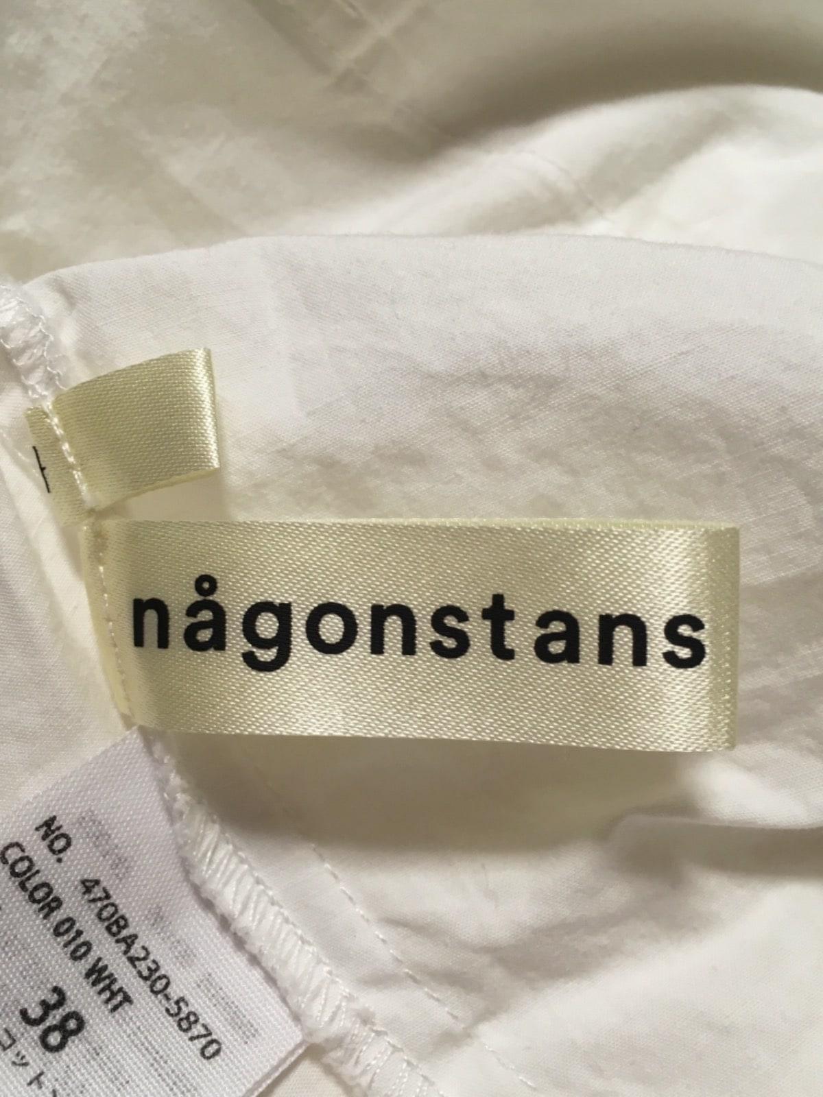 nagonstans(ナゴンスタンス)のシャツブラウス