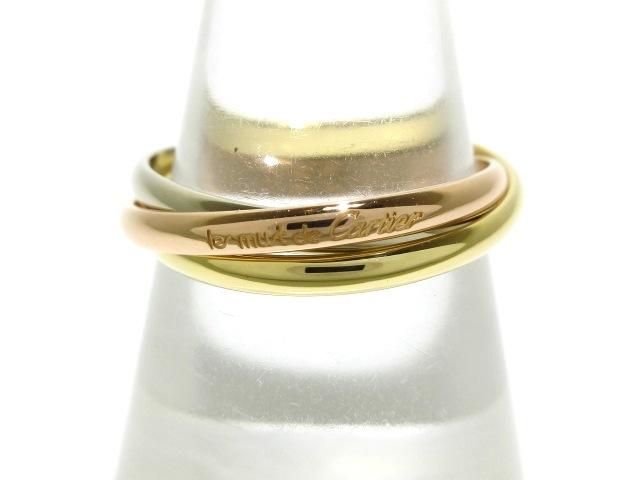 Cartier リング トリニティ K18スリーカラー ※ダイヤモンドなし