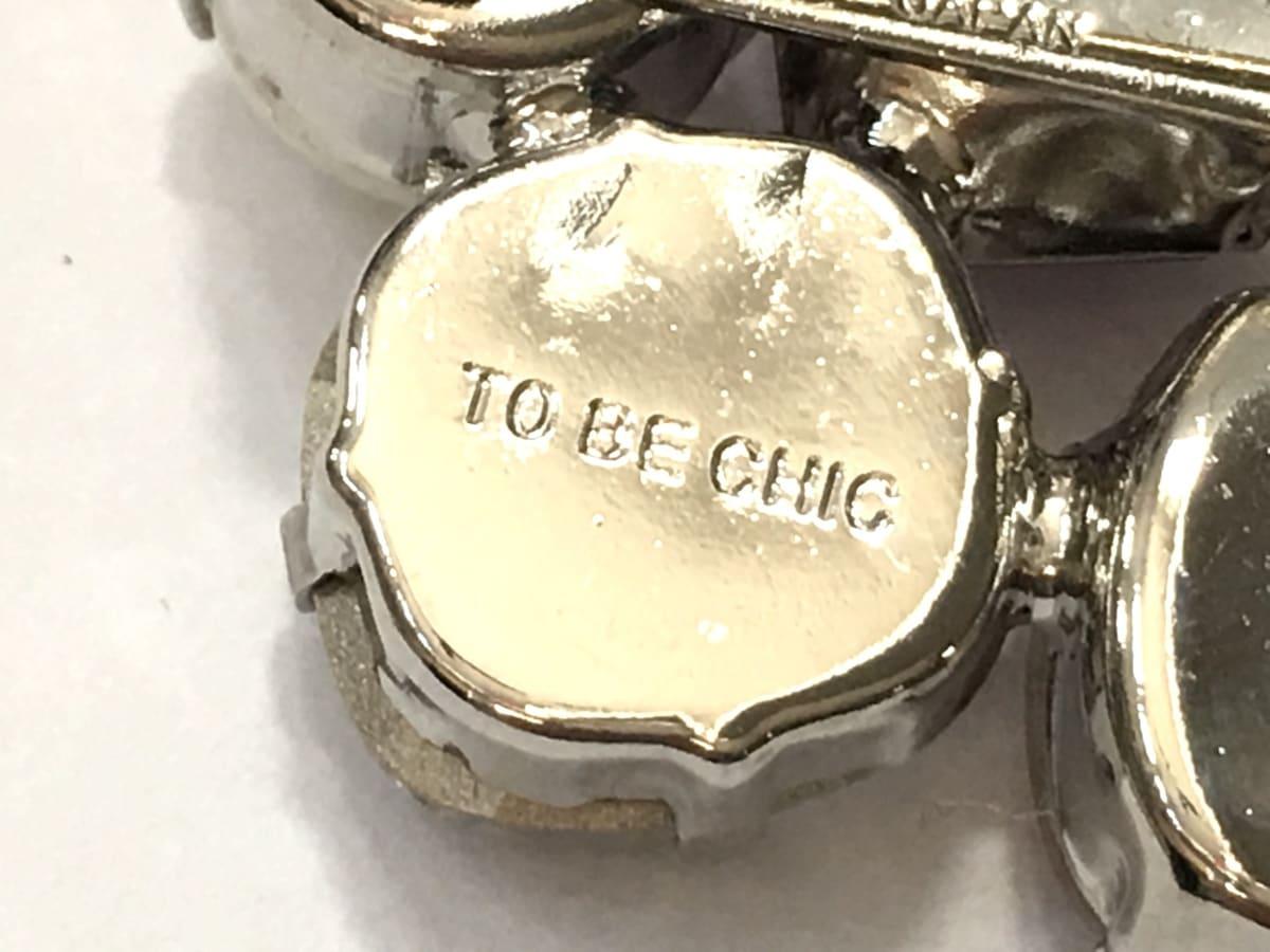 TO BE CHIC(トゥービーシック)のブローチ