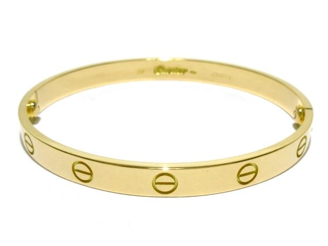 Cartier ブレスレット ラブブレス ※ダイヤモンドなし