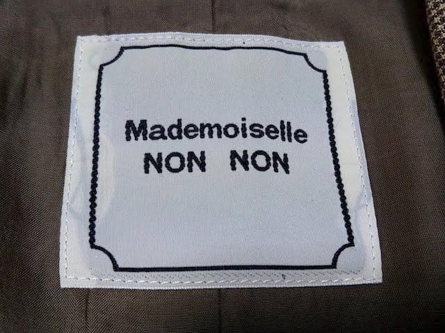 Mademoiselle NON NON(マドモアゼルノンノン)のレディースパンツスーツ
