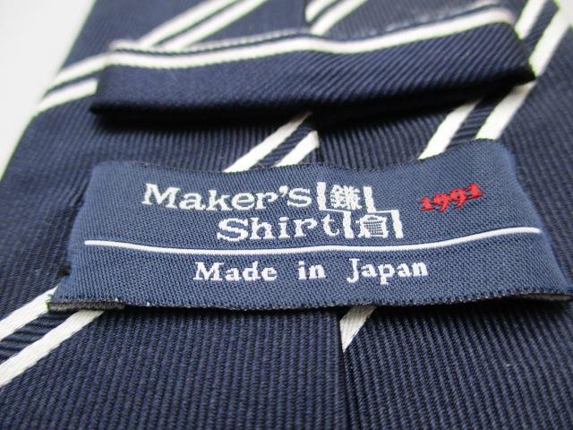 Maker's Shirt鎌倉(メーカーズシャツカマクラ)のネクタイ