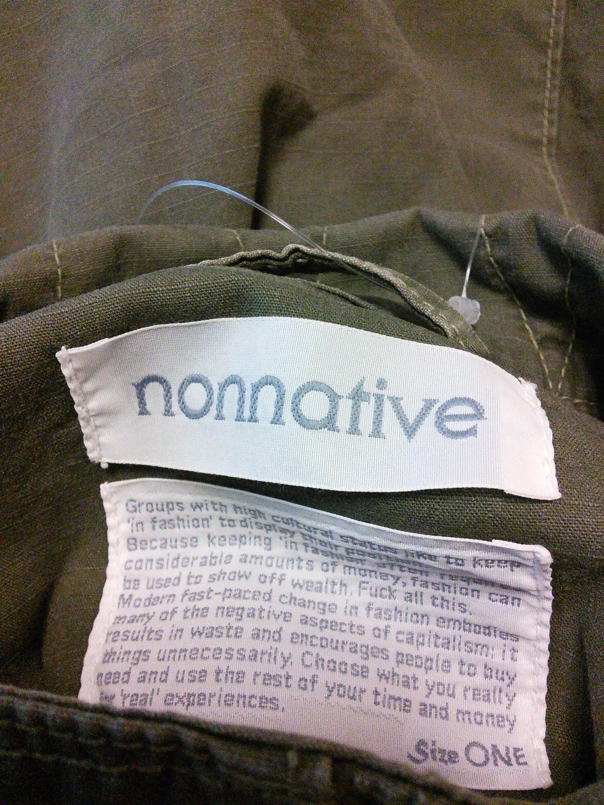 nonnative(ノンネイティブ)のブルゾン