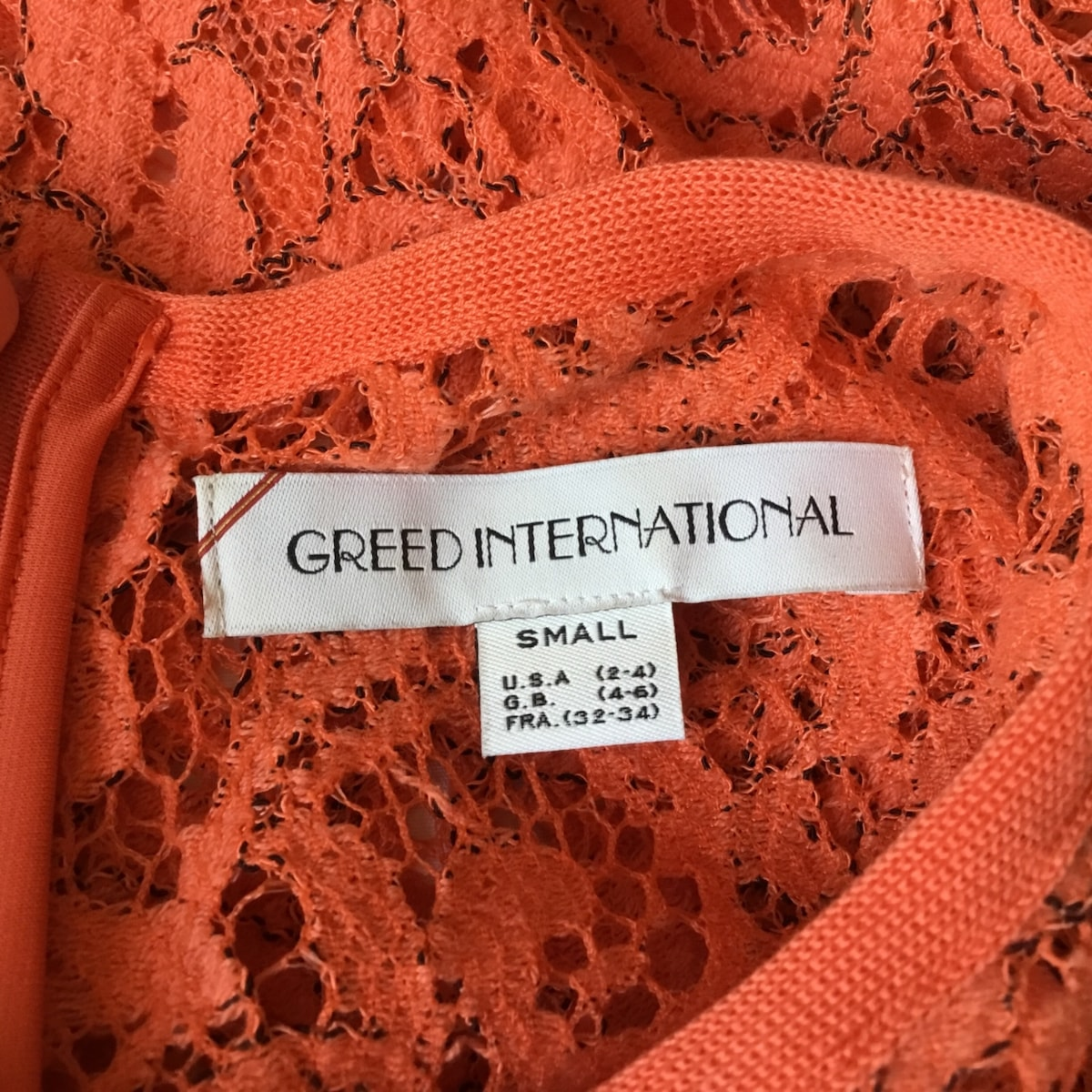 GREED International(グリード インターナショナル)のカットソー