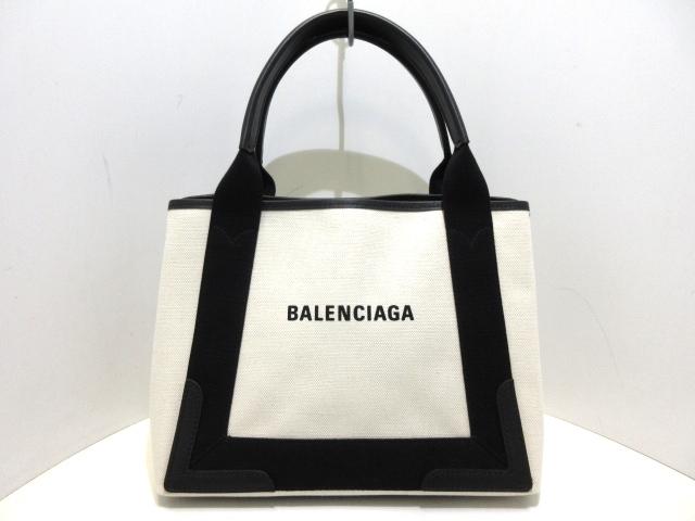 BALENCIAG トートバッグ ネイビーカバS 339933